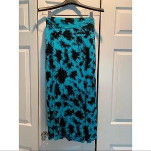 Kensie Tie Dye Maxi Skirt